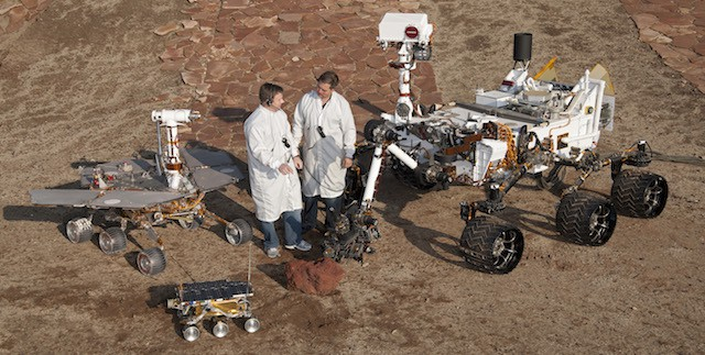 Rover gathering: space applications call for high levels of autonomy