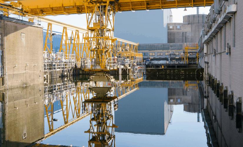 Pile Fuel Storage Pond at Sellafield (© Sellafield Ltd)