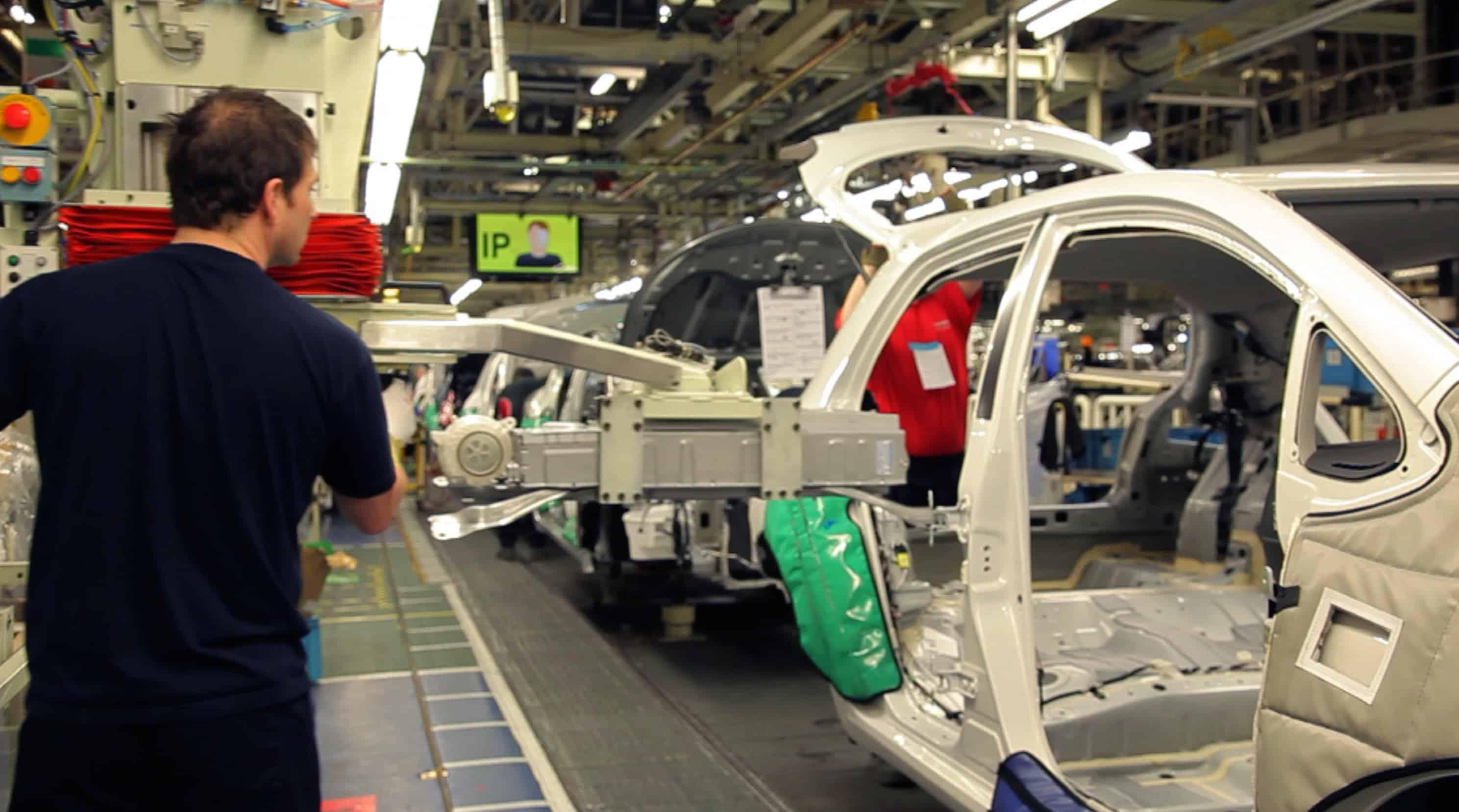 Toyota Auris made in Britain