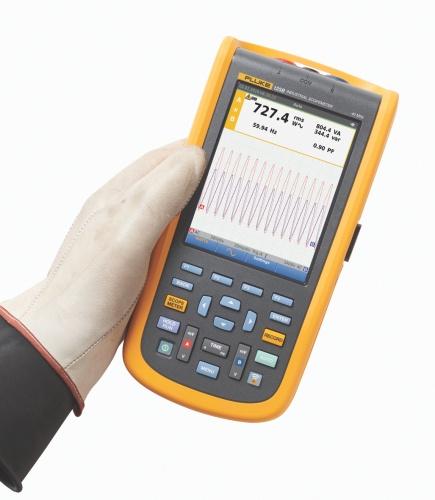 M0209fl - Fluke 125B Industrial ScopeMeter® Hand Held Oscilloscope