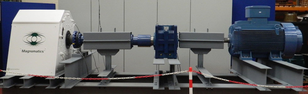 A PDD system being tested by Magnomatics