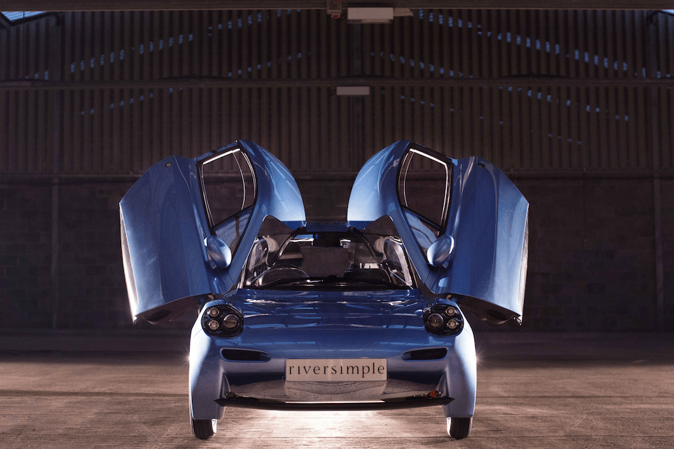 Riversimple's Rasa hydrogen fuel cell car