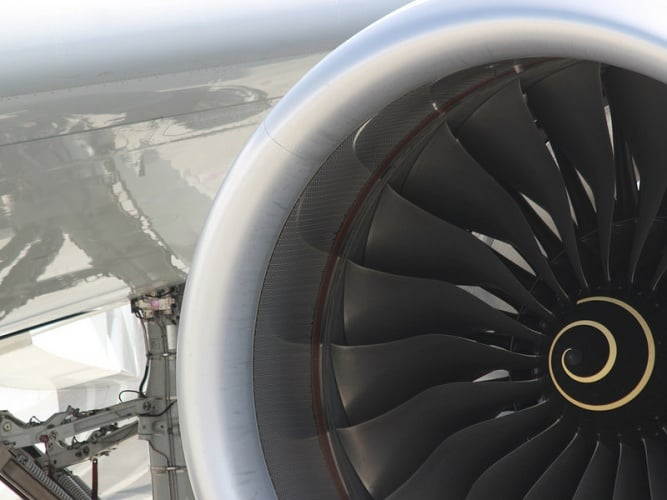 Rolls Roce jet engine (Credit: Rolls Royce)