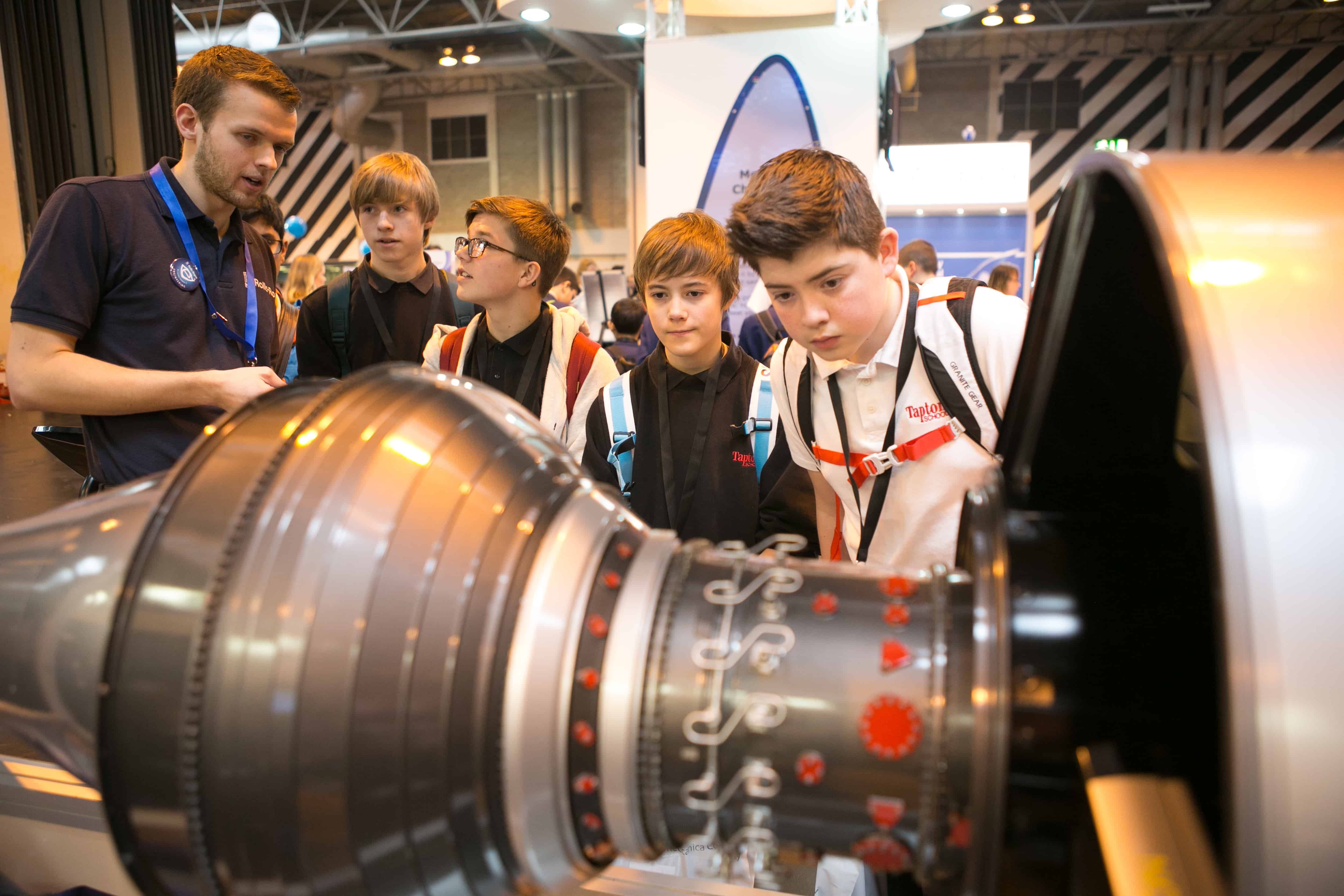Budding engineers will be enthused by experts in a huge range of technologies at the Big Bang Fair