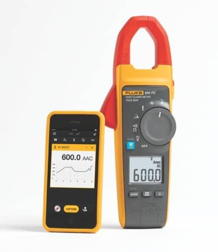M0103fl - Fluke 902 FC true-rms Wireless HVAC Clamp Meter