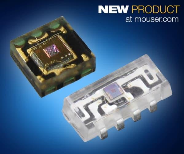 Mouser - Vishay's Space-Saving VEML Ambient Light Sensors