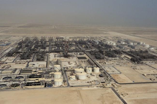 Pearl GTL plant in Qatar