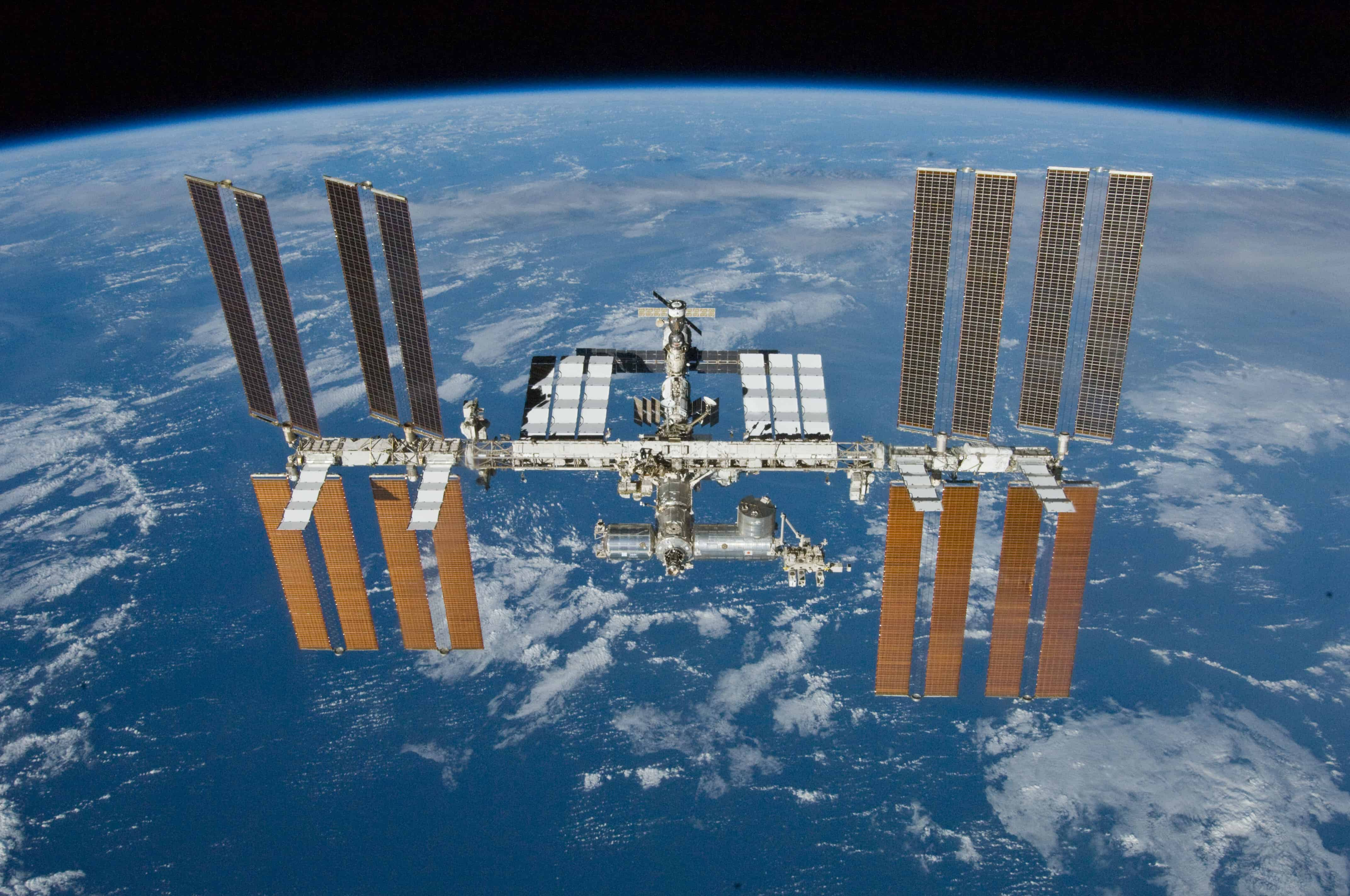 The technology was developed to monitor the crew of the ISS