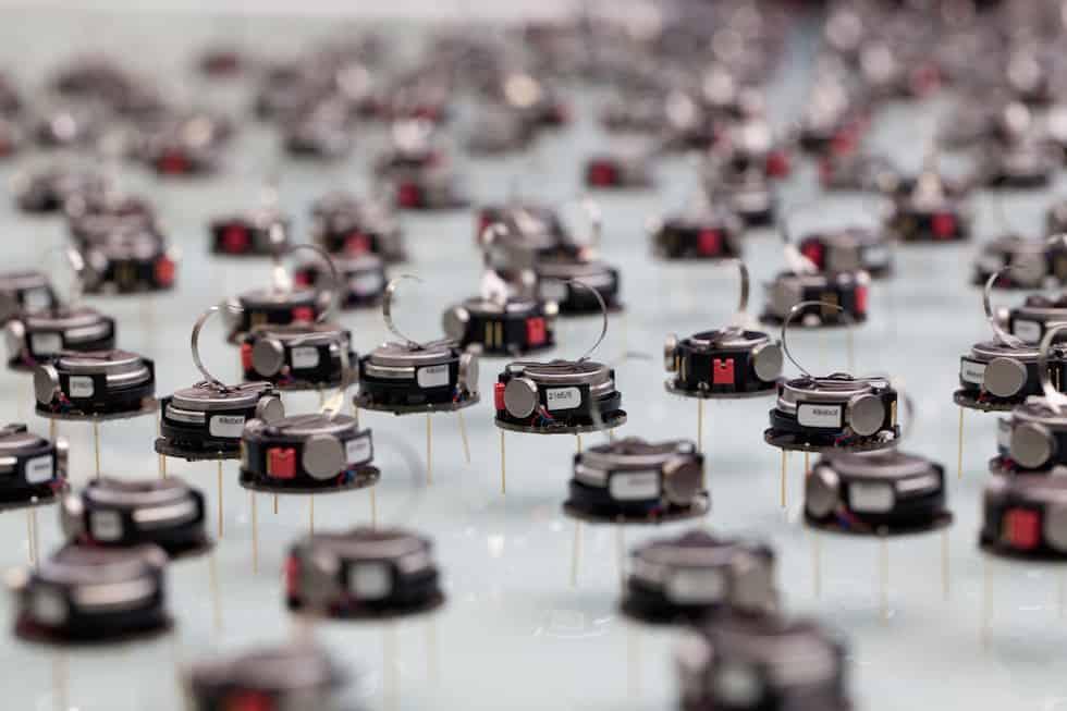 Sheffield Robotics - robot swarm