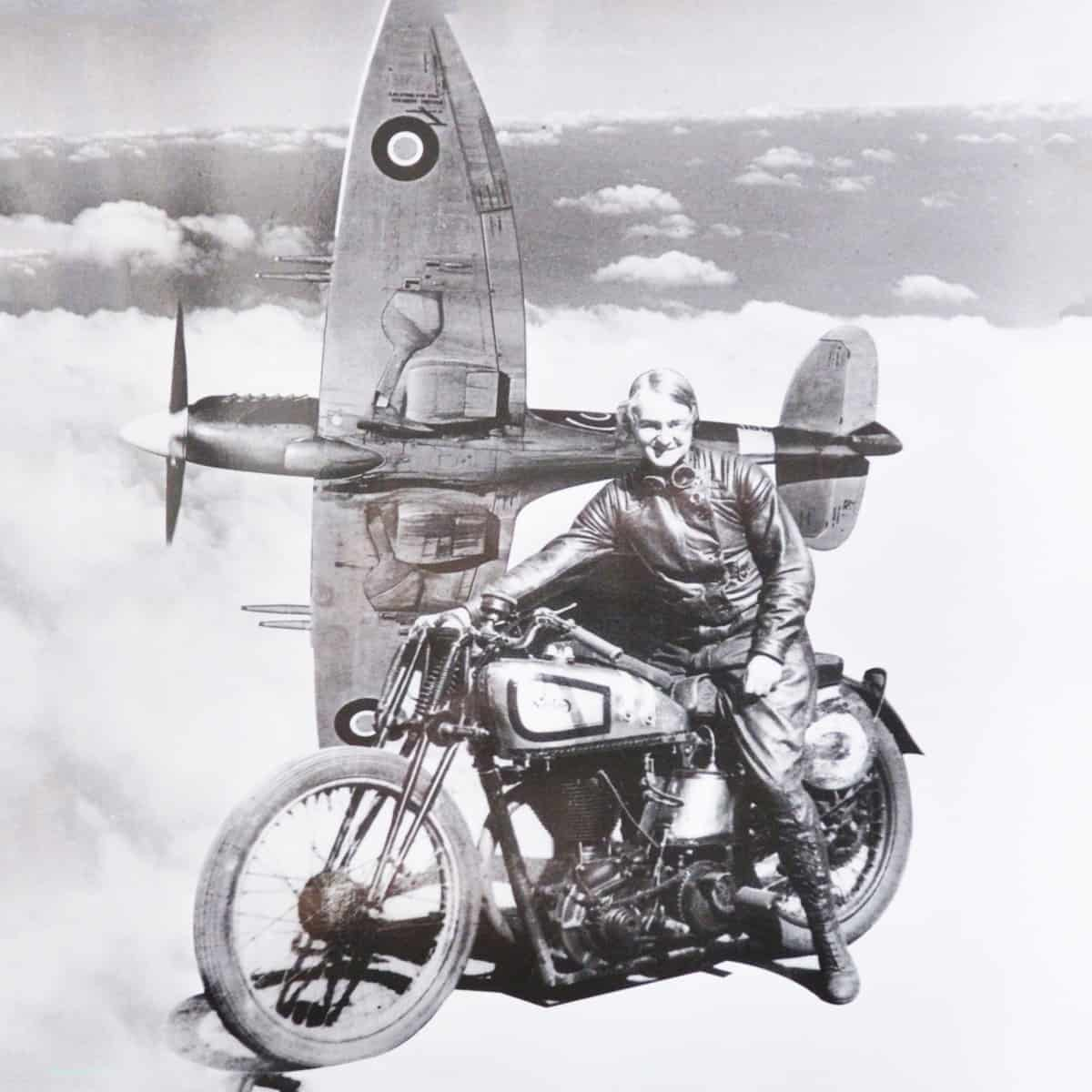 Beatrice 'Tilly' Shilling, who improved the safety of the Spitfire Image: University of Manchester