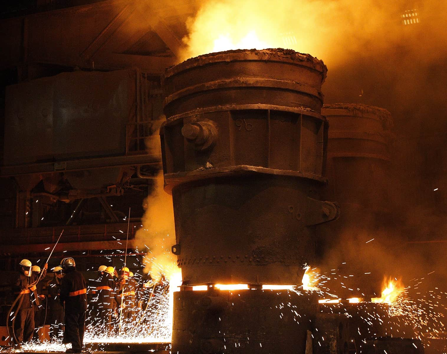 Large casting pour scheduled for Sheffield Forgemasters' foundry