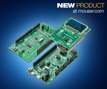 Mouser - Analog Devices' EVAL-ADICUP360 Development Board