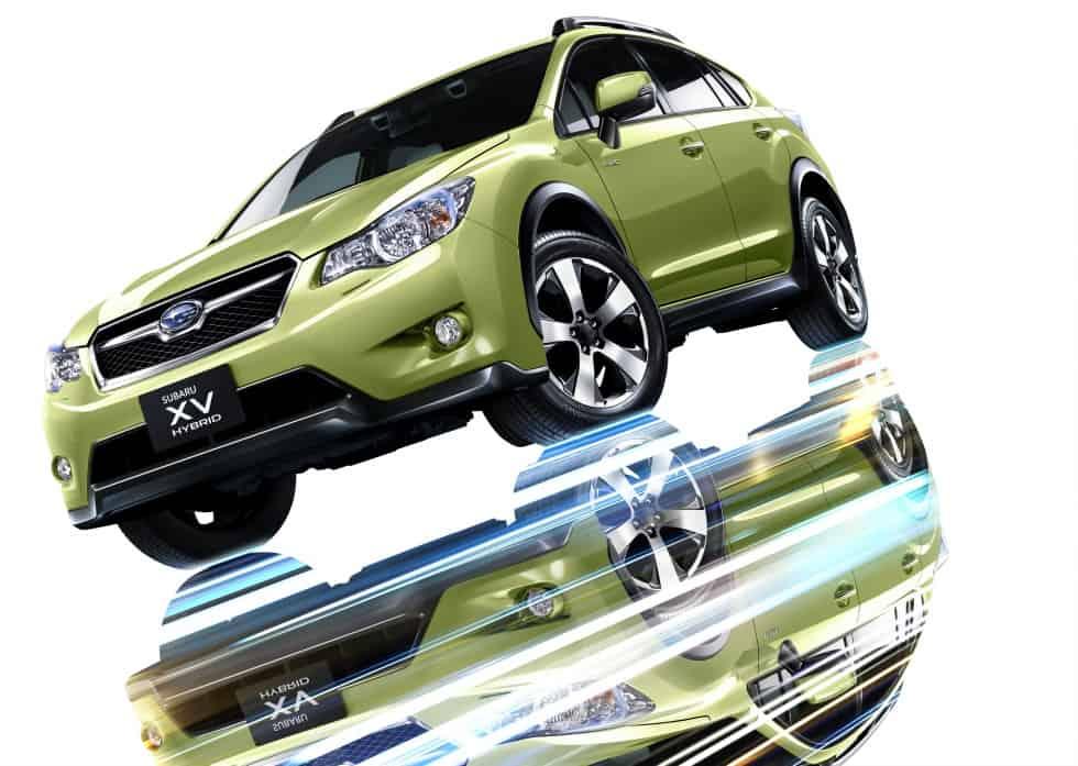 Subaru Hybrid reflection_white_XVH1312