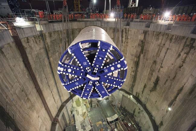When work on Crossrail 2 gets underway the assumption is that tunnels will be drilled to the same 6.2m diameter as Crossrail 1