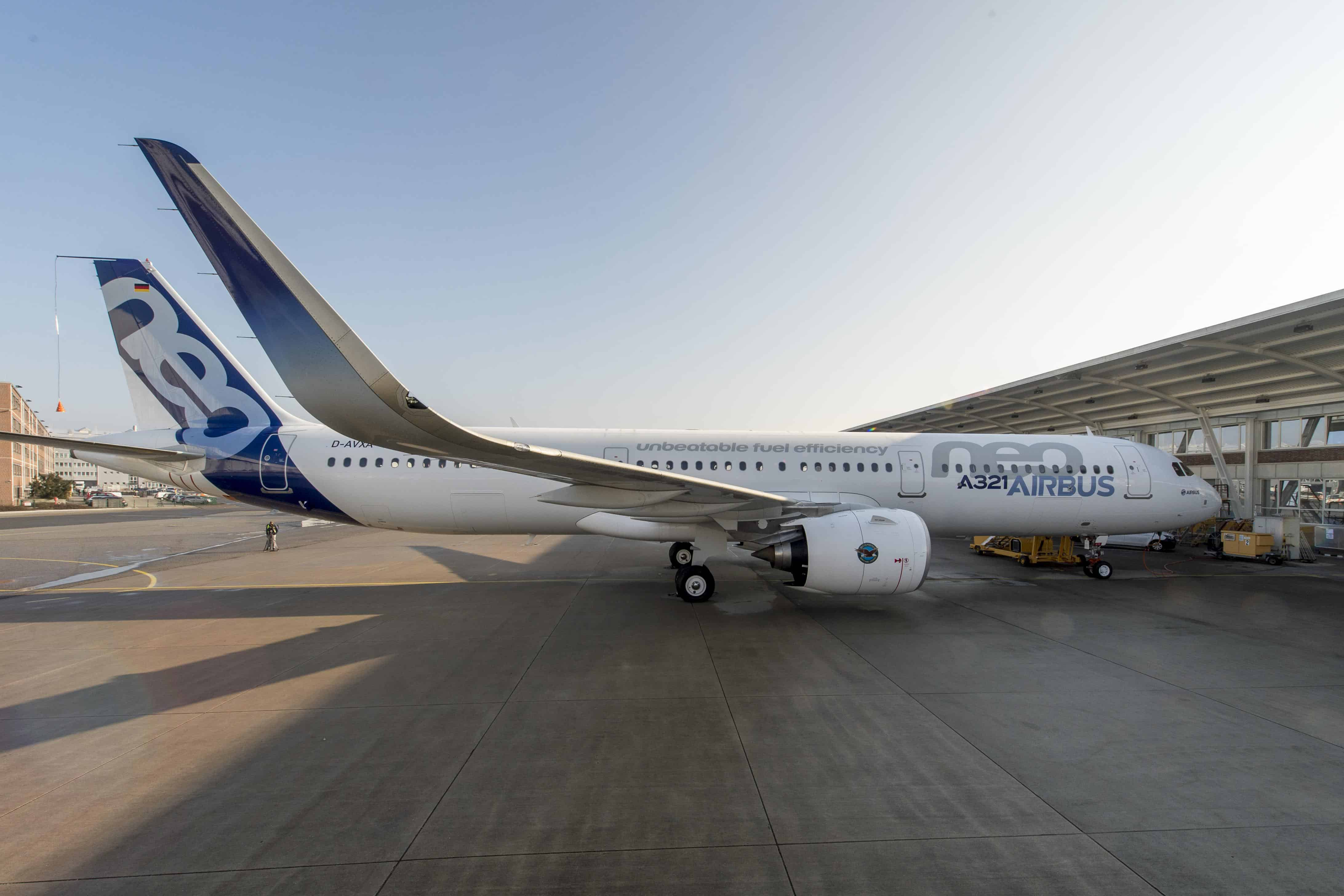 The A320 neo is 20 per cent more efficient than current A320s