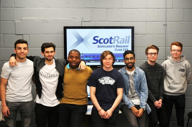 GCU ScotRail project PR