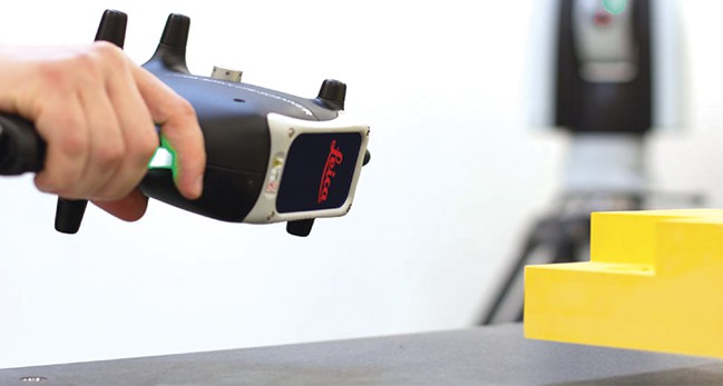 Hexagon Manufacturing Intelligence's Leica Absolute Scanner