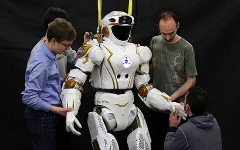 Valkyrie's human-like shape is designed to enable it to work alongside people, or carry out high-risk tasks in place of people. Image: David Cheskin