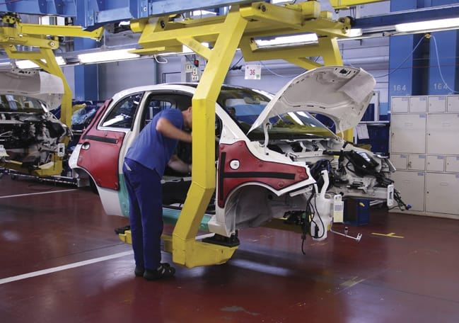 Sensors are increasingly used to gather data on production lines