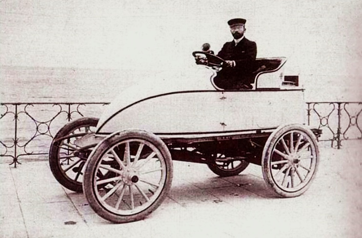 Leon Serpollet and the steam-powered 'Easter Egg'