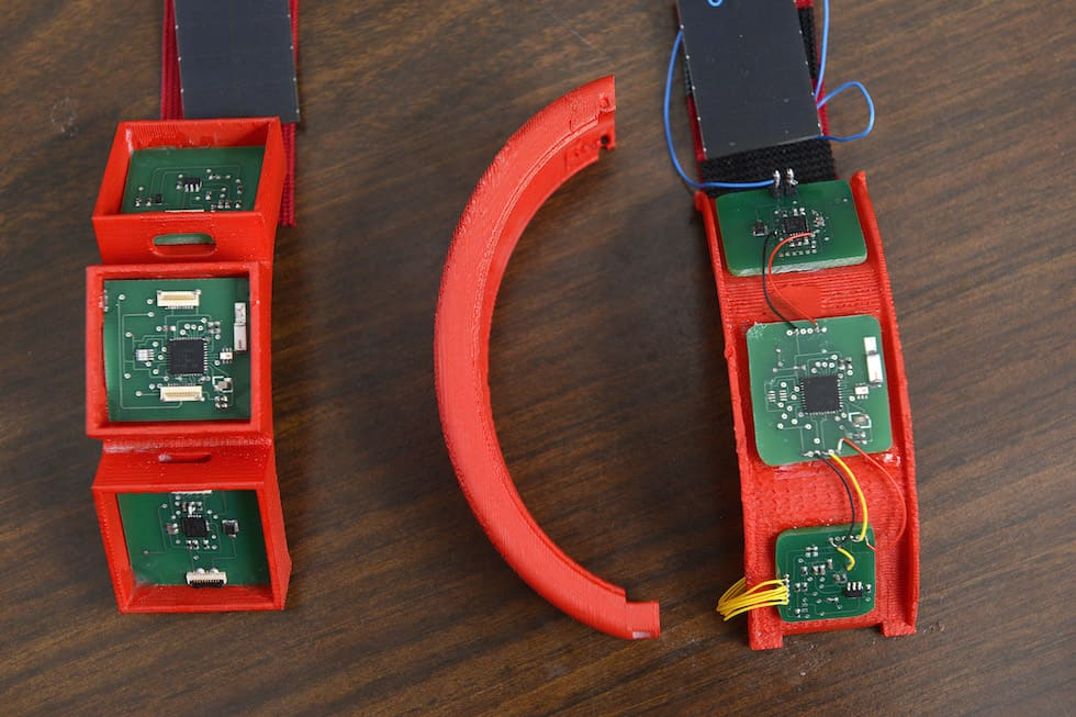 A prototype of the HET wristband. Photo credit: NC State University