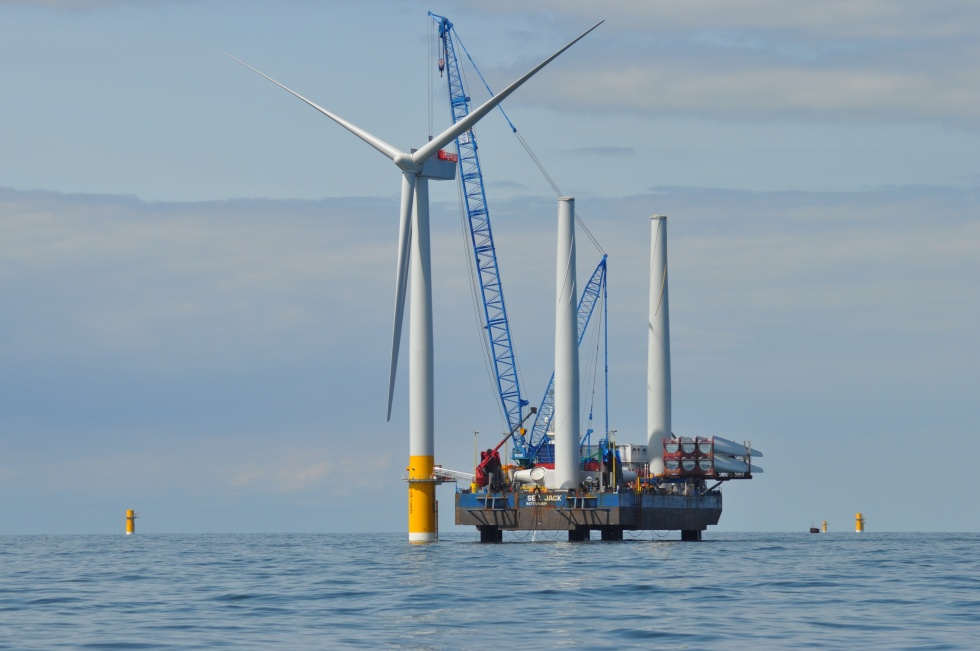 Offshore-Windpark Greater Gabbard (UK)