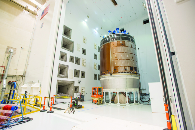 Orion - the new crewed capsule that's planned to take astronauts to Mars - is currently being tested