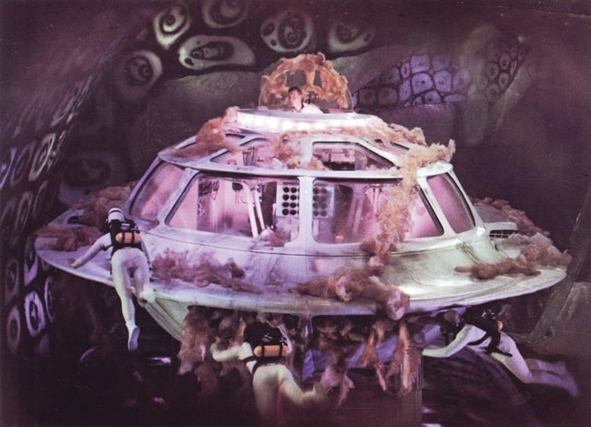 The Proteus, a miniatuised submarine from the 1960s film Fantastic Voyage, is a far cry from what real medical nanobots will be like