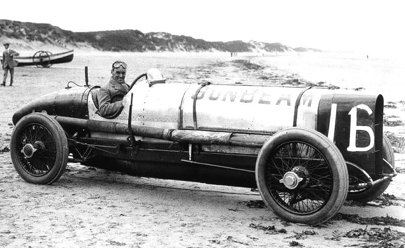 Last of the racing-cars: Malcolm Campbell and the car that would be the first Bluebird