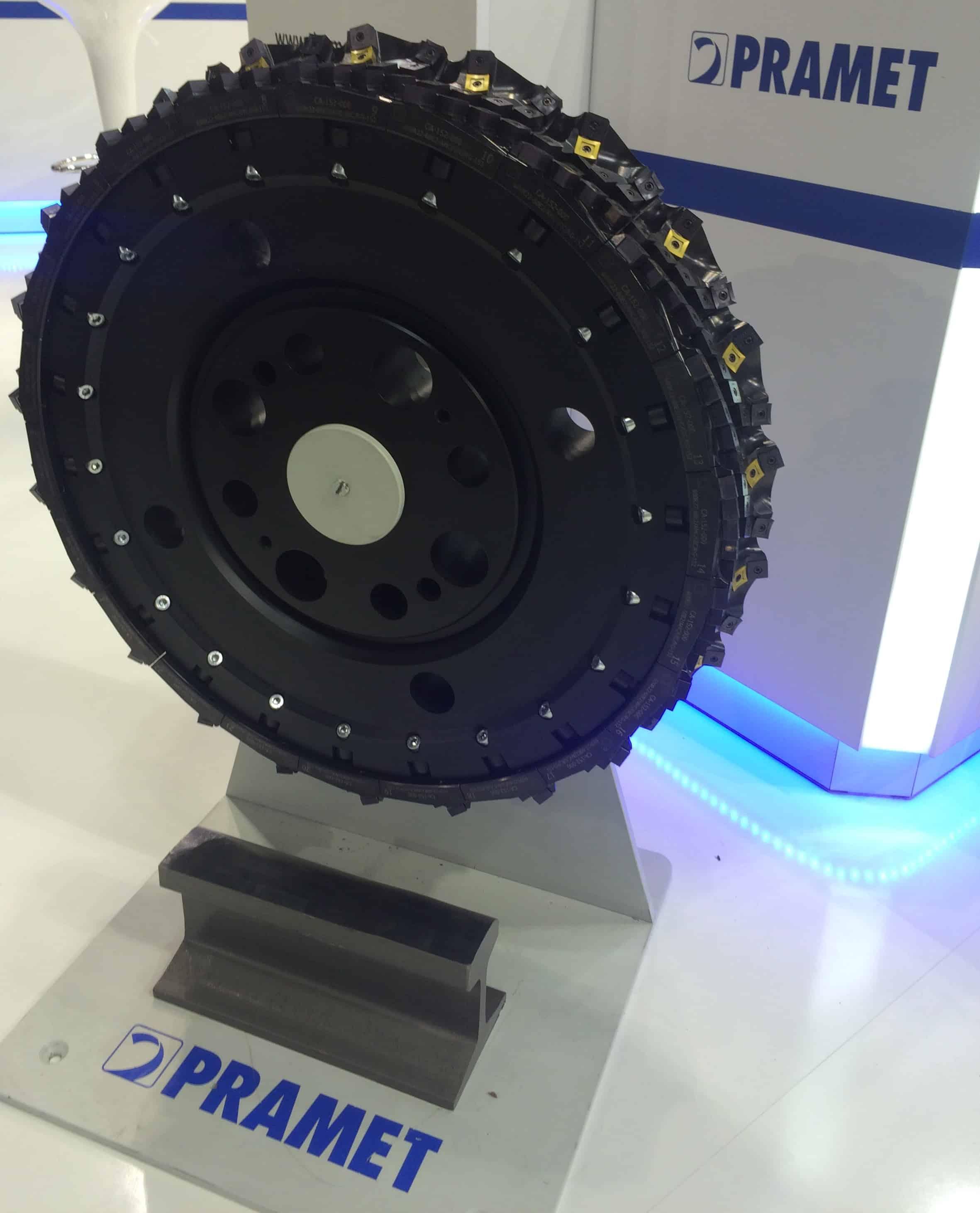 The Pramet dynamic rail milling cutter