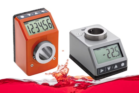 Elesa Direct Drive IP65/7 Electronic Position Indicator for 20mm shafts
