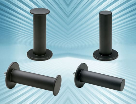 90° stability handles from Elesa for quick-fit support on powered hand tools