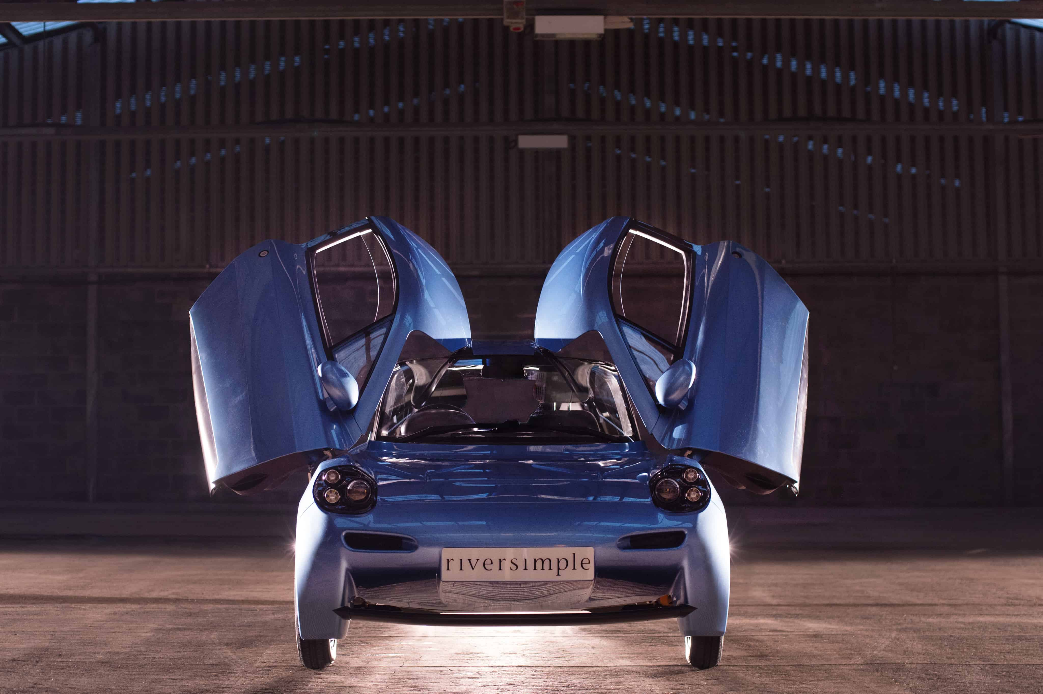 RIVERSIMPLE RASA - FRONT WITH BUTTERFLY DOORS OPEN - HIGH RES