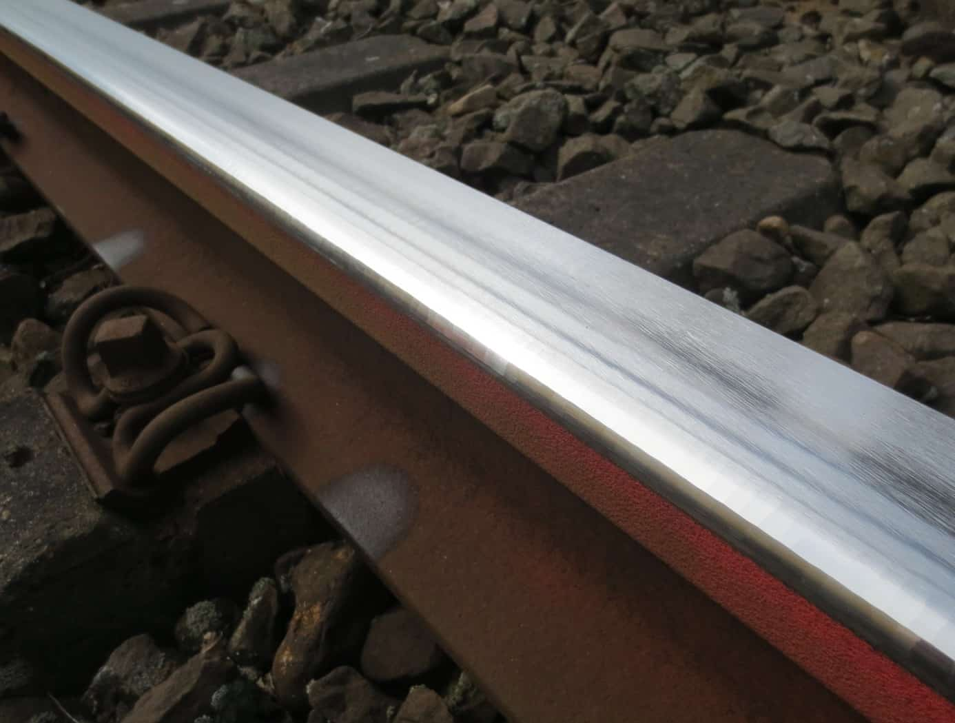 A rail after treatment