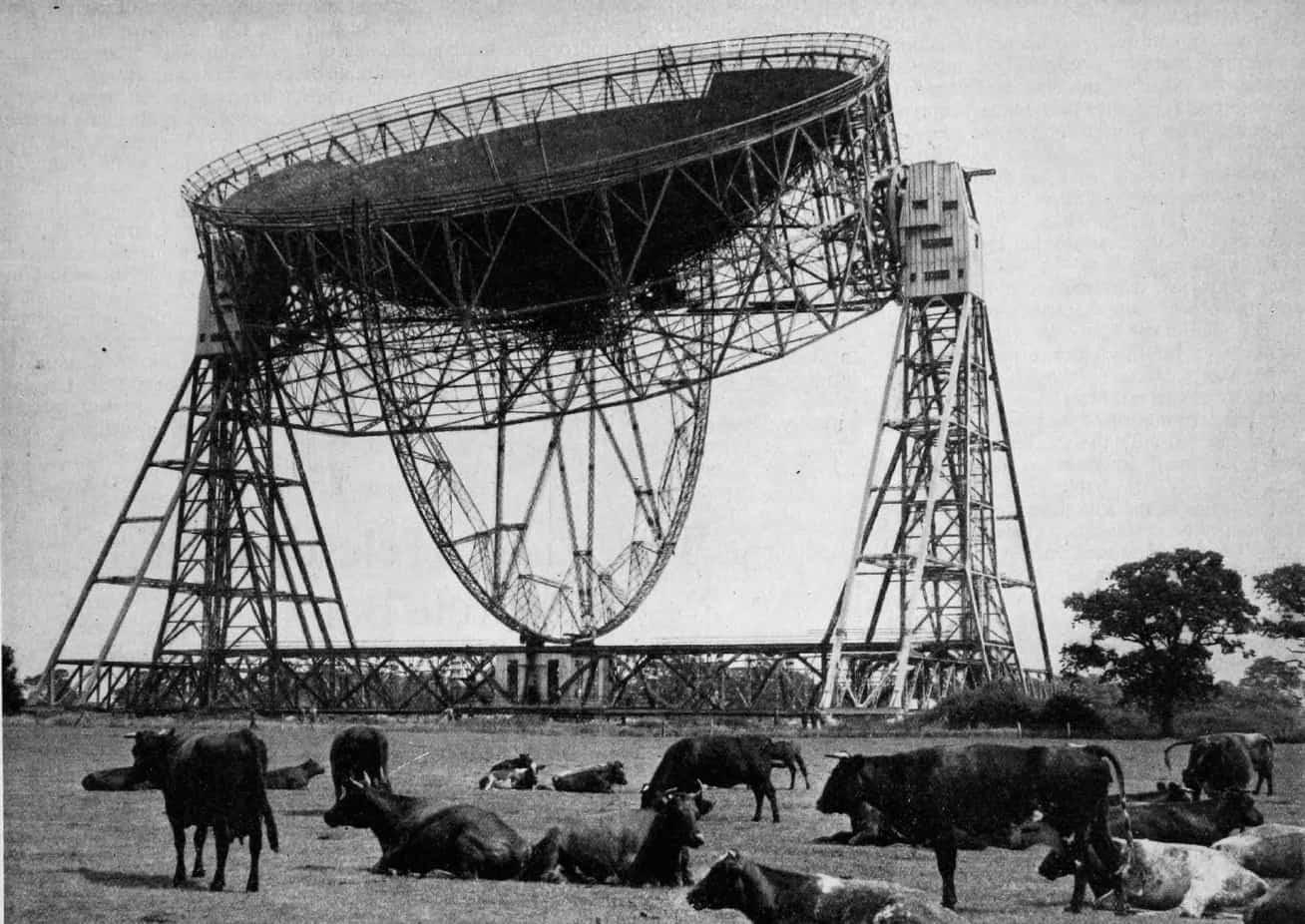 The Lovell Telescope in 1957