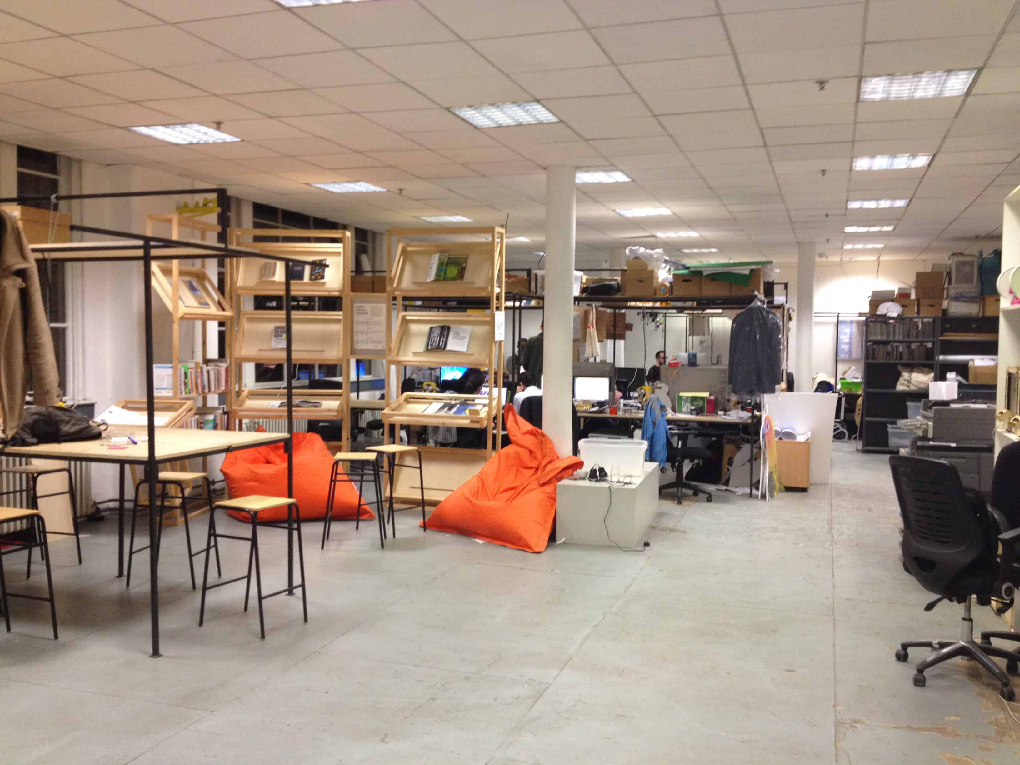 Maker spaces, like this one at London's Somerset Hpuse, provide companies with access to technologies they would otherwise not be ab to afford.