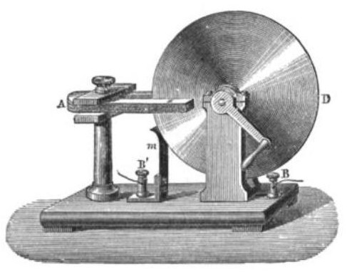 The Faraday wheel was the first demonstration of generating electrical current
