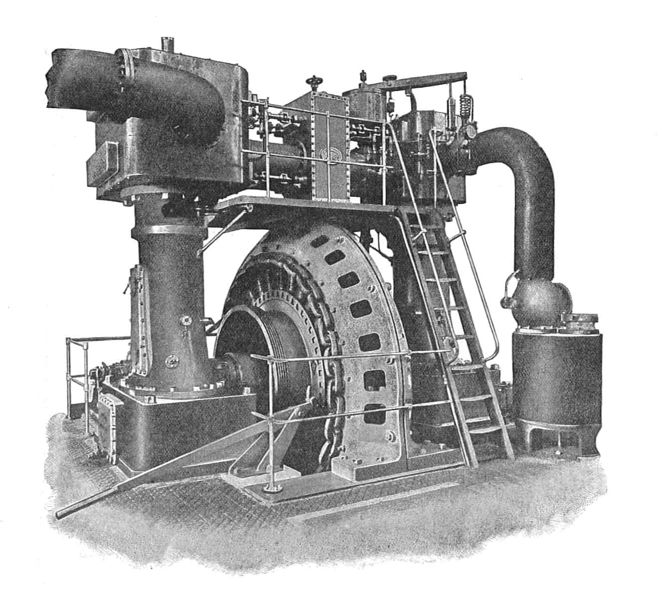 Ferranti's generators were installed at he Deptford Power Station
