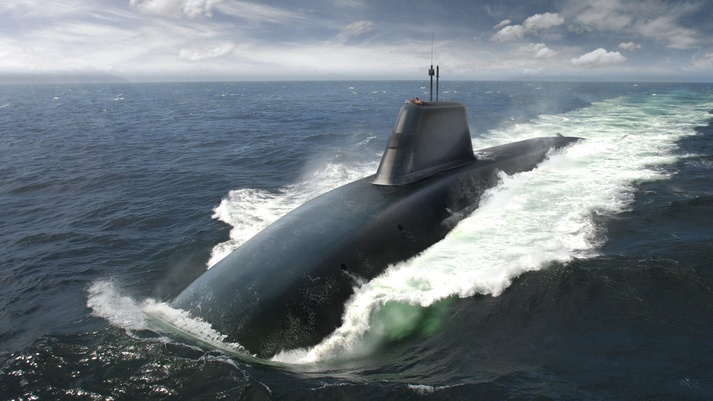 An rendering of HmS Dreadnought, previously known as Successor. Image: BAE Systems