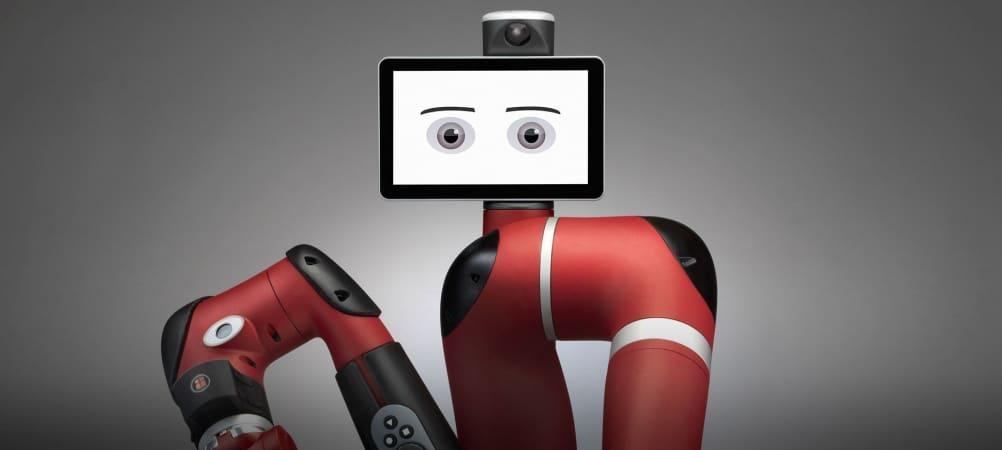 Rethink's Sawyer robot (Credit: Rethink Robotics)