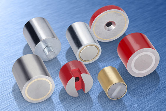 Magnets from Elesa - temporary fixings for instruments to signage