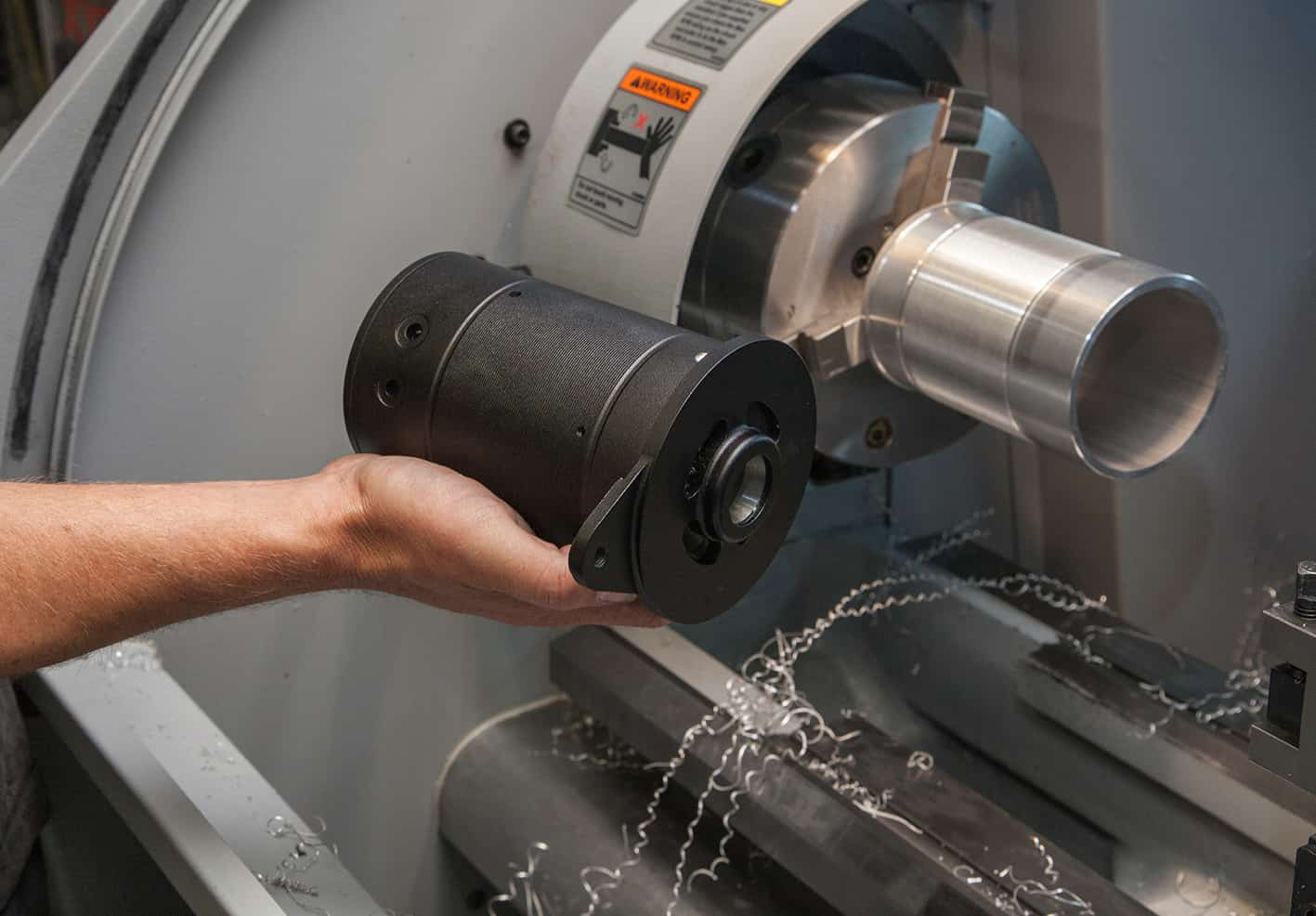 The XYZ machine tools have accelerated work rates