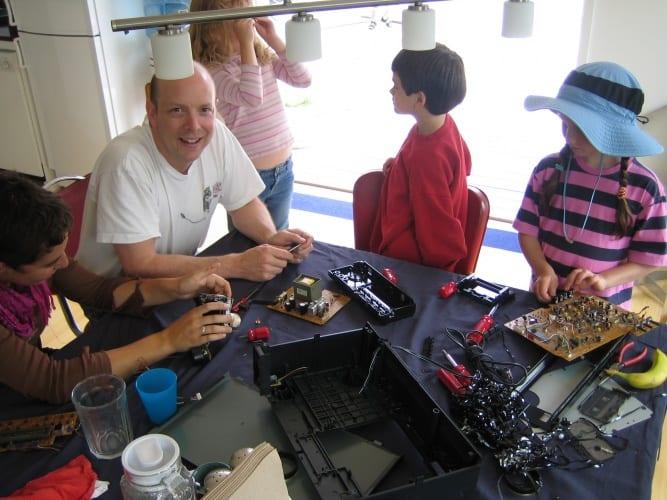 Tinkering School (Credit: Julie Spiegler)