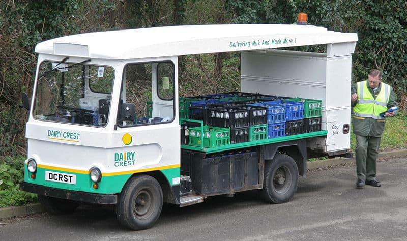 Electric milk floats can last for decades (Credit: Brian Snelson)