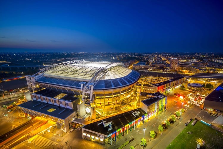 Amsterdam Arena will use reconditioned EV batteries for local storage