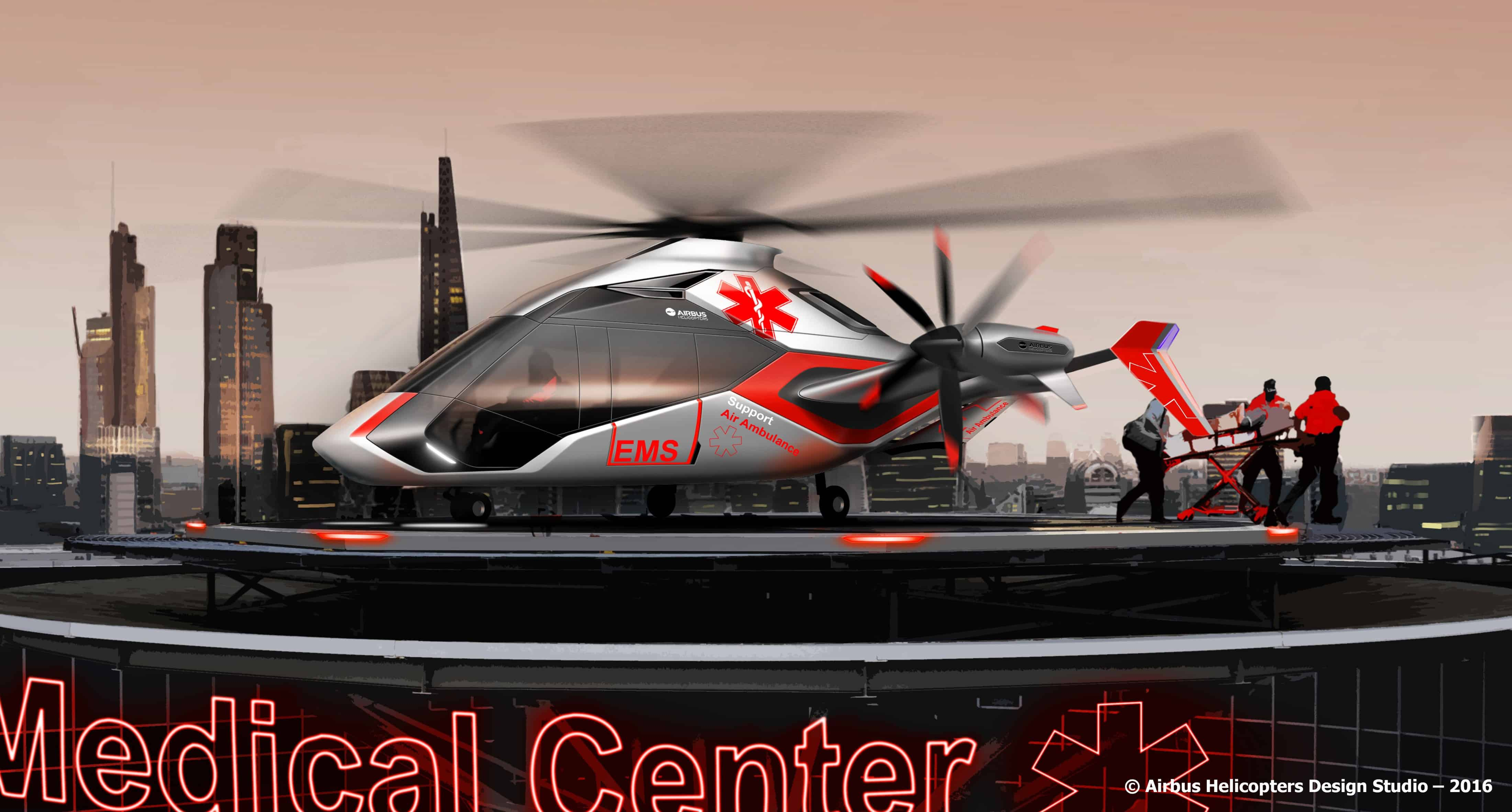 Emergency services are an important potential market for the new design