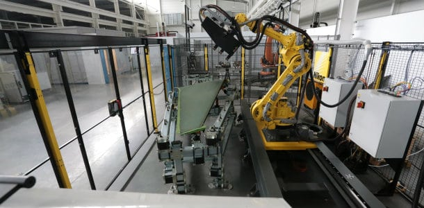 Using the robot countersinking cell has required BAE Systems' engineers to learn new skills
