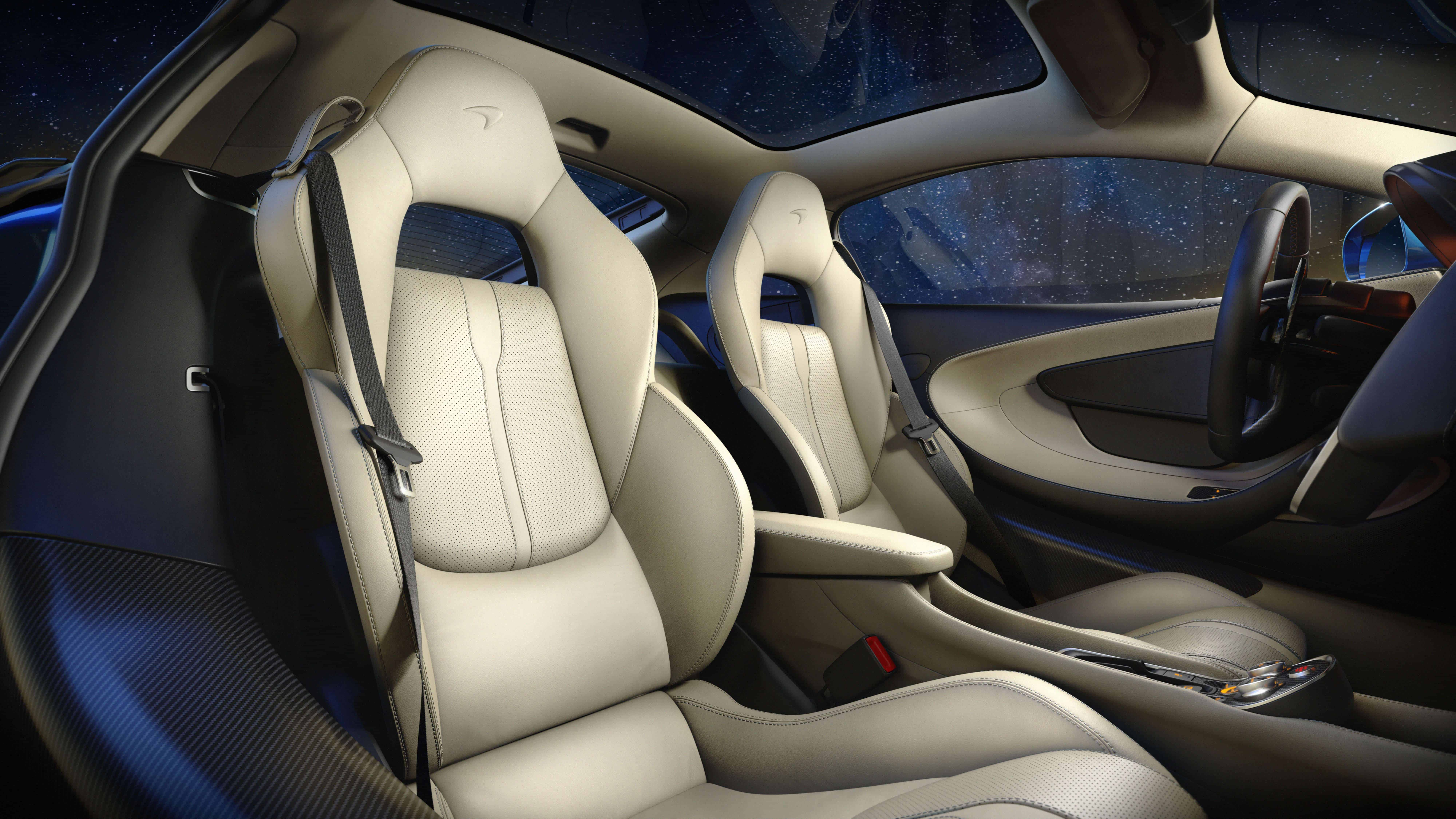 Leather-lined comfort in the GT cabin, and even a glove box