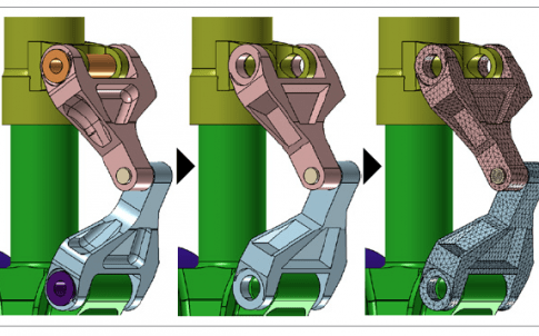 Faster CAD-to-mesh process