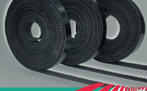 Rubber open-end belts